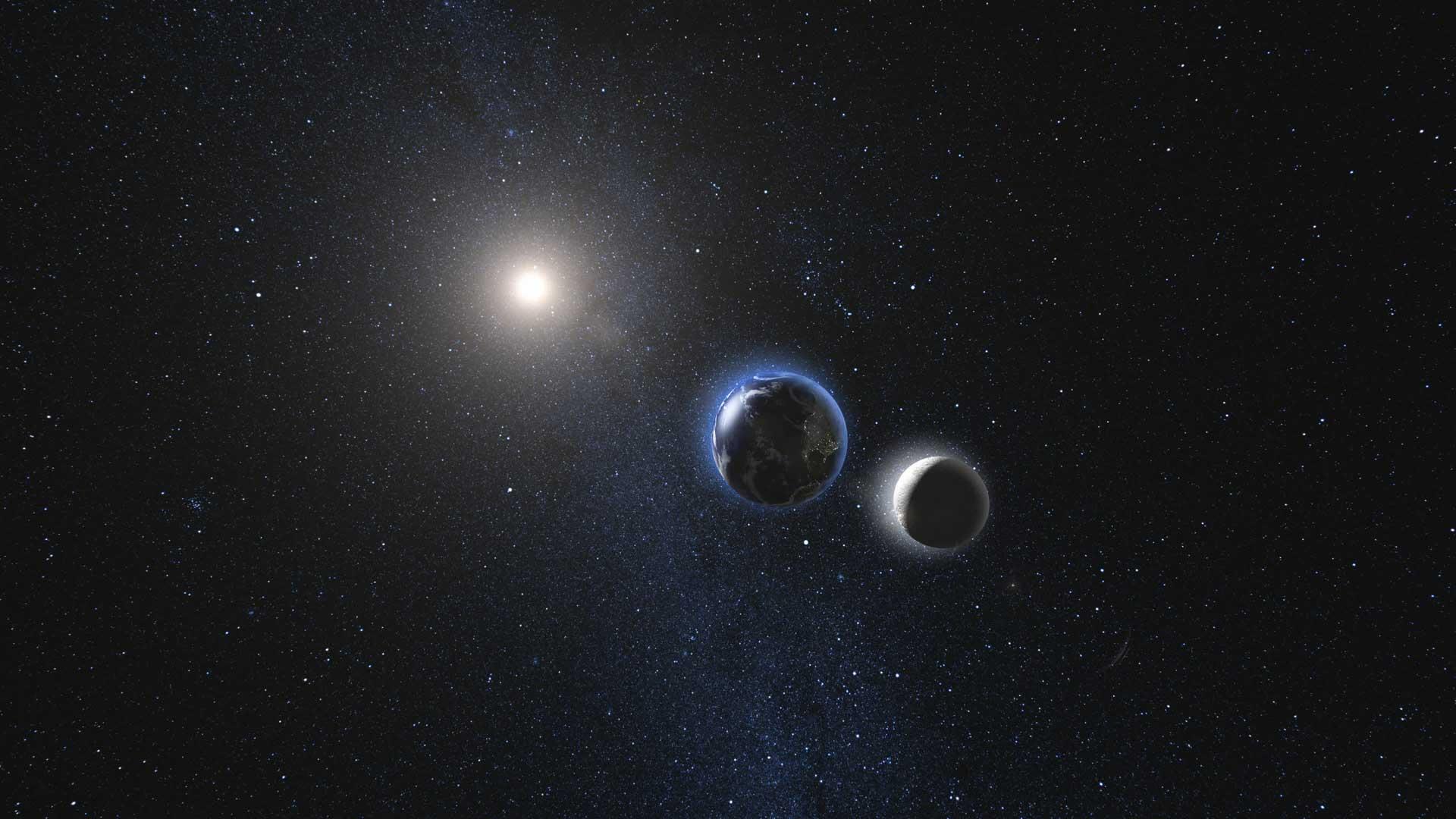 Moon Light Energy Rotating Approach