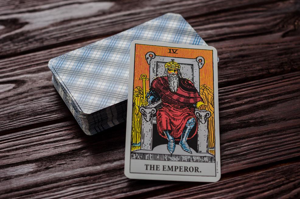 The Emporer tarot card