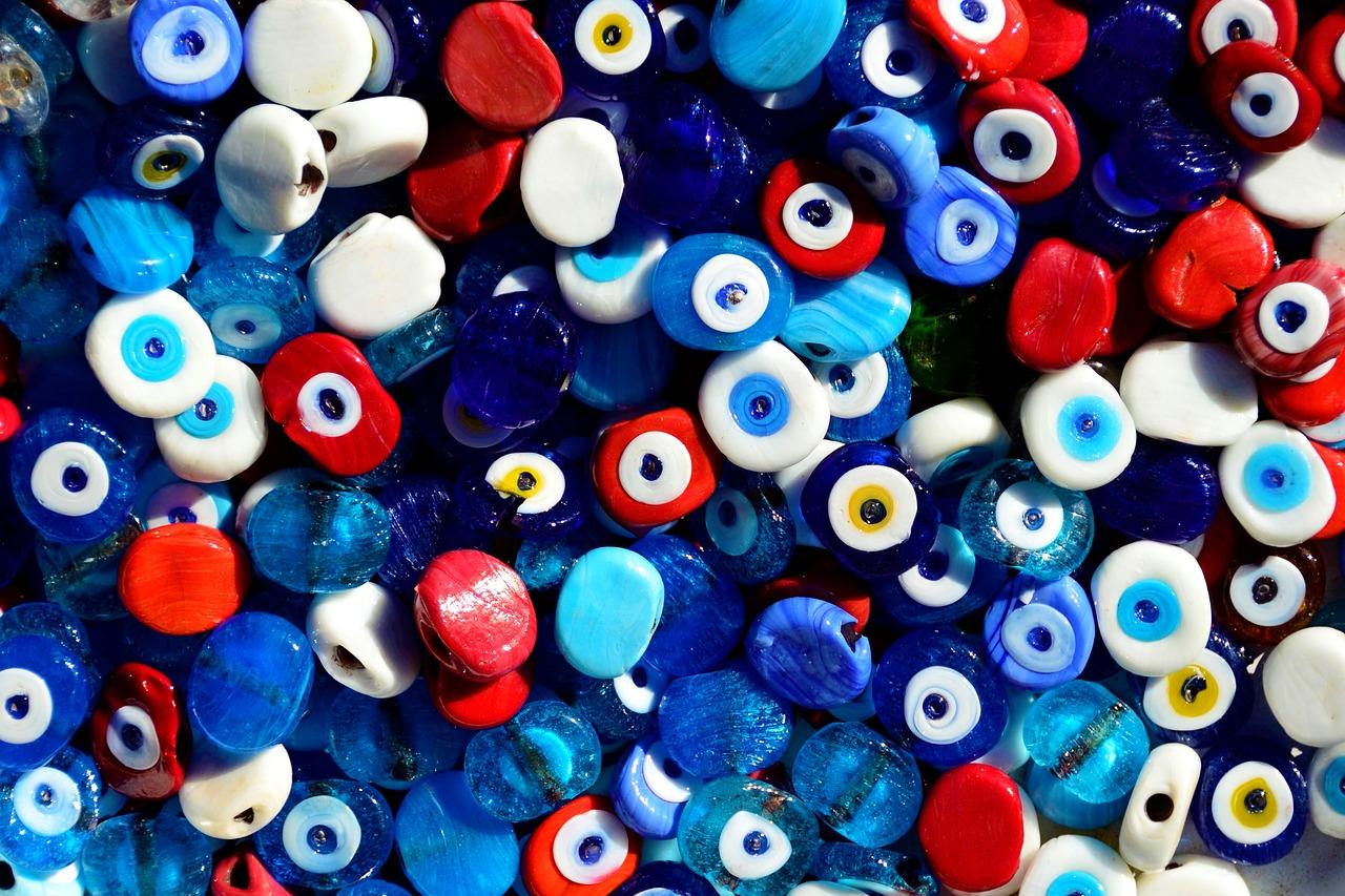 Colors of Evil Eye Bracelets