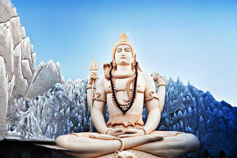 Lor Shiva Mala Bead Necklace