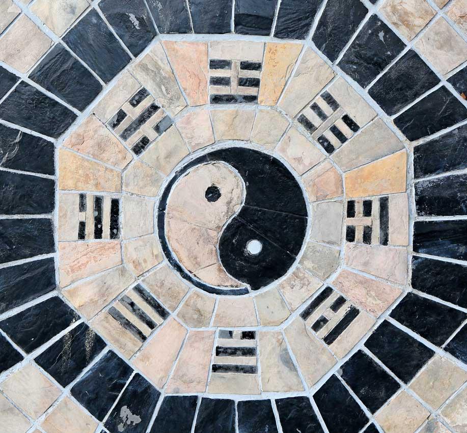 Vastu Shastra principles Yin Yang Symbol
